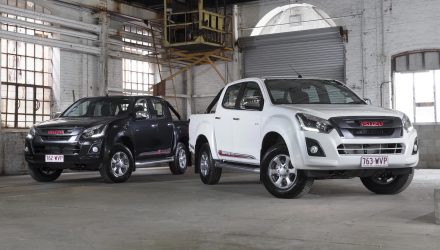 2017 Isuzu D-Max X-Runner special edition on sale, celebrates 100 years