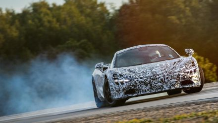 Next McLaren Super Series getting Variable Drift Control