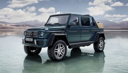 Mercedes-Maybach G650 Landaulet officially revealed