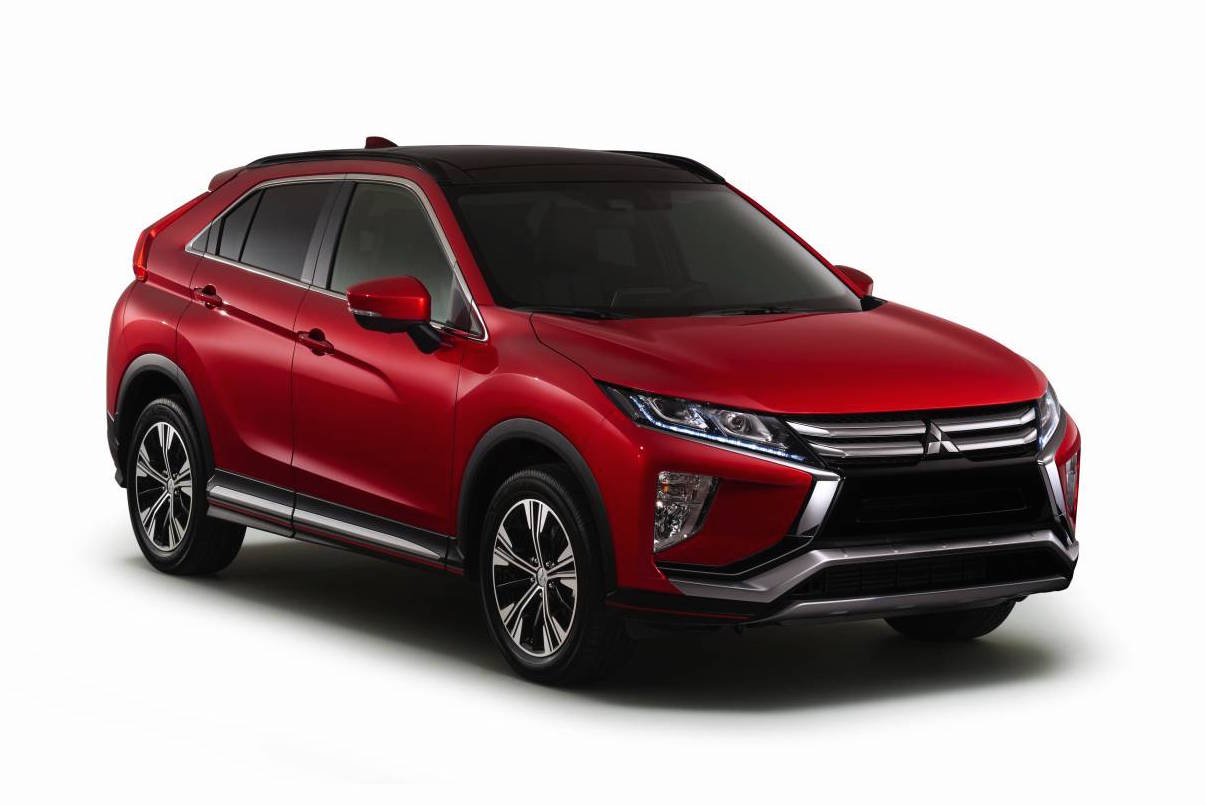 Mitsubishi Eclipse Cross unveiled as new coupe SUV | PerformanceDrive