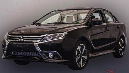 Overseas-spec 2017 Mitsubishi Lancer revealed in more detail, gets digital dash