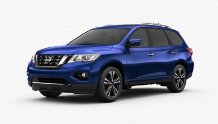 2017 Nissan Pathfinder arrives in March, more power for V6