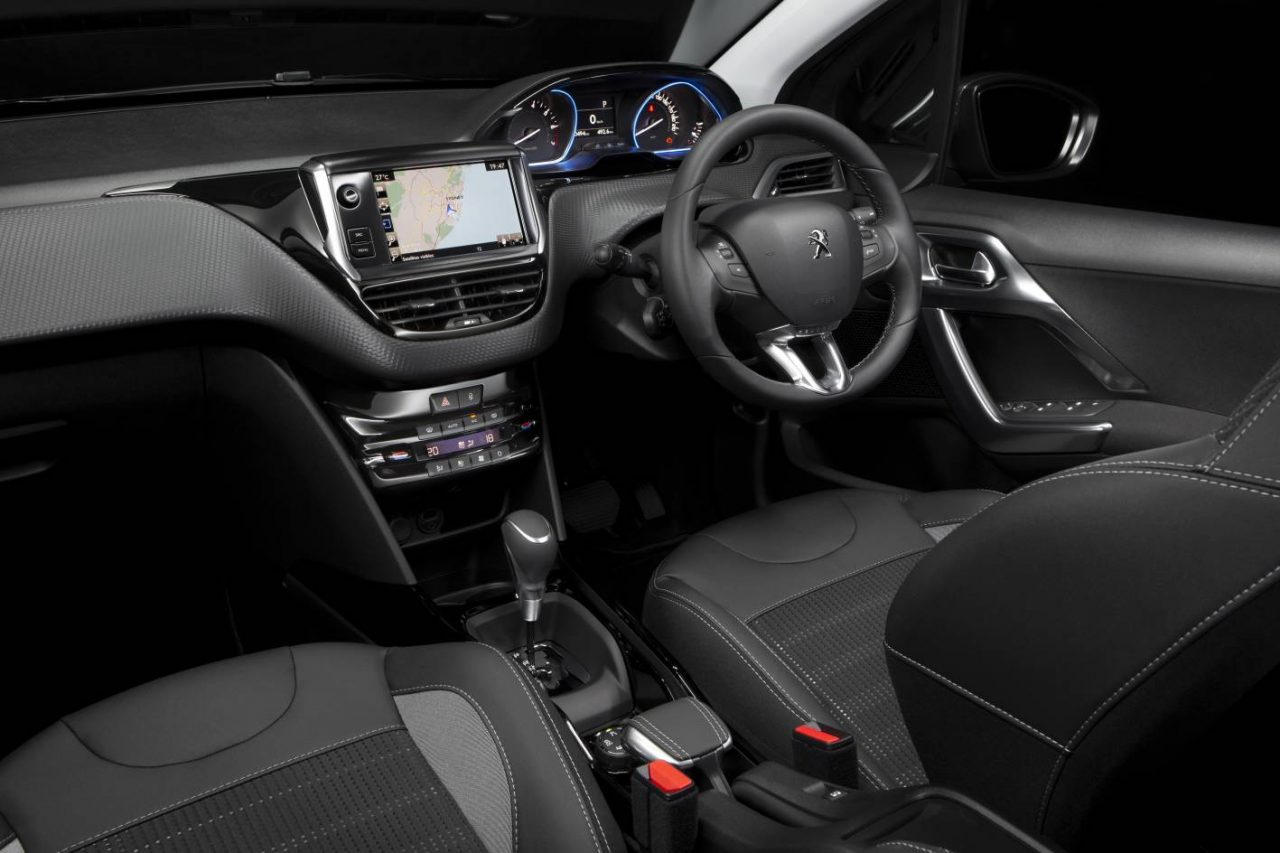 New look 2017 peugeot 2008 now on sale in australia for Peugeot 208 interior 2017