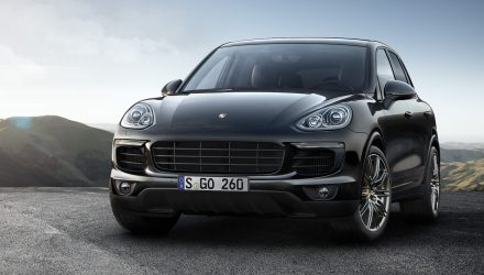 Porsche Cayenne Platinum Edition announced
