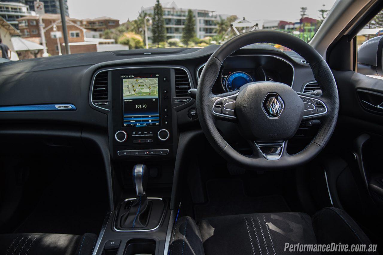 2017 Renault Megane GT-Line interior