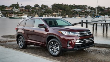 Updated 2017 Toyota Kluger now on sale in Australia