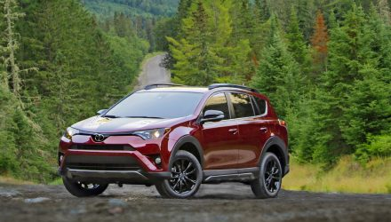 2017 Toyota RAV4 Adventure edition unveiled at Chicago show