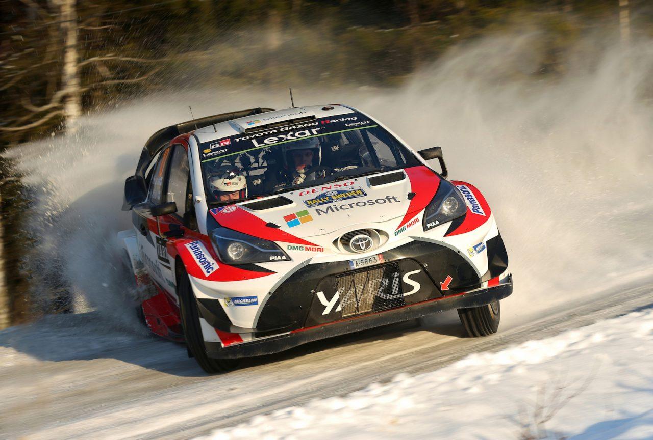 Toyota wins 2017 Rally...