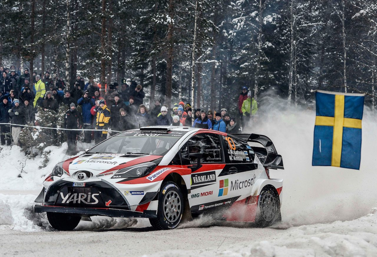 Toyota Wins Rally Sweden First WRC Win Since - Rally sweden map 2016