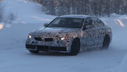 2018 BMW 3 Series 'G20' spotted, based on CLAR platform (video)