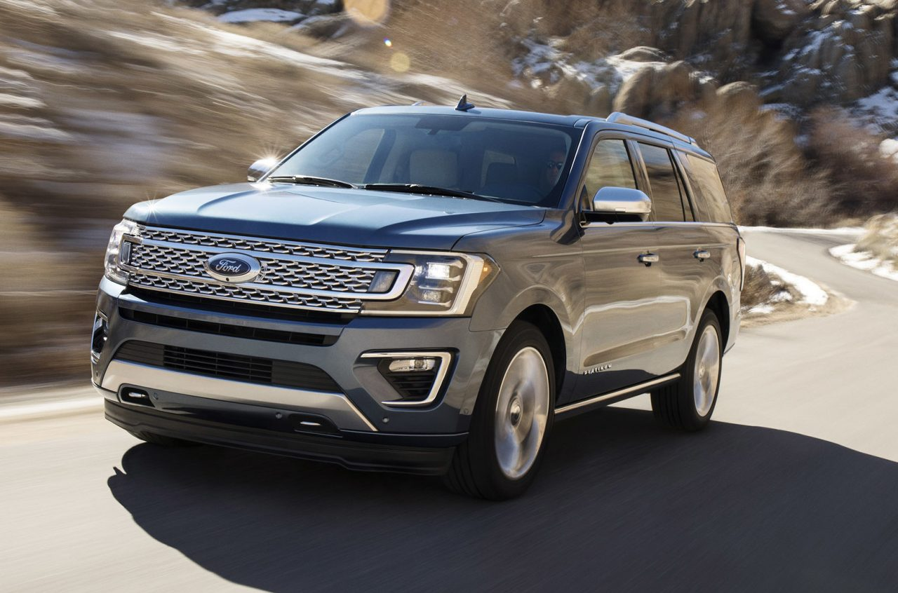 2018 Ford Expedition revealed, up to 136kg lighter ...