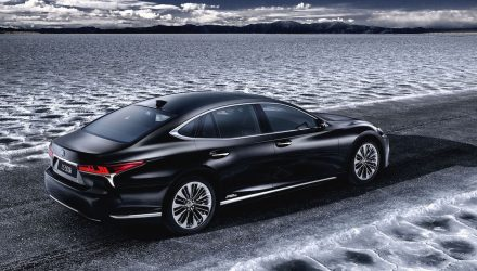 2018 Lexus LS 500h set for Geneva, debuts twin-turbo hybrid