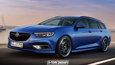 2017 Opel Insignia OPC/Commodore SS Sportwagon rendered