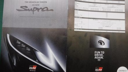 Toyota Supra name confirmed with brochure scan, specs revealed
