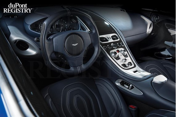 High Quality Aston Martin One 77 Interior
