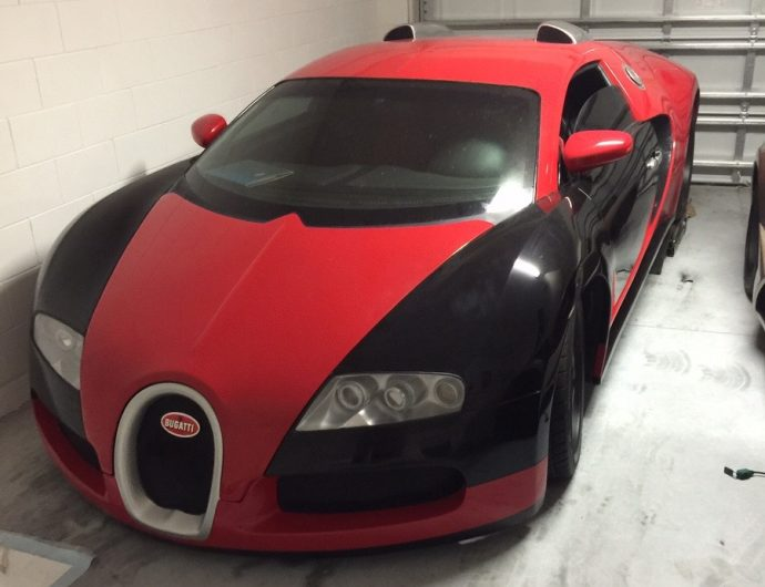 for sale fake bugatti veyron asking too much performancedrive. Black Bedroom Furniture Sets. Home Design Ideas
