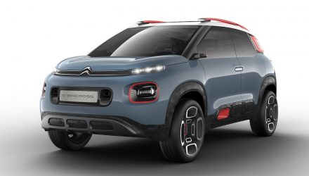 Citroen C3 C-Aircross concept previews new compact SUV
