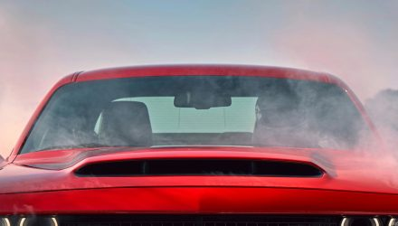 Dodge Challenger SRT Demon gets biggest-ever production bonnet scoop (video)