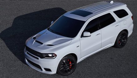 Dodge Durango SRT revealed; fastest, most powerful 7-seat SUV
