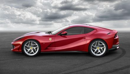 Ferrari 812 Superfast debuts as F12 facelift