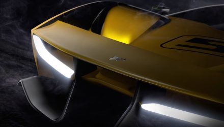 Fittipaldi EF7 Vision Gran Turismo previewed before Geneva