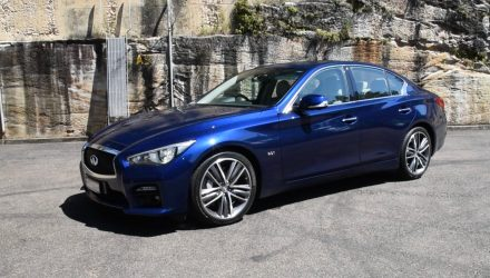 298kW Infiniti Q50 Red Sport POV review – first impressions (video)