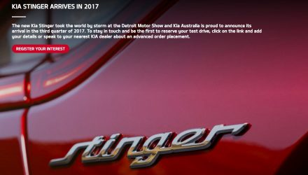 Kia Stinger arrives in Australia third quarter, 3.3TT V6 & 2.0T confirmed