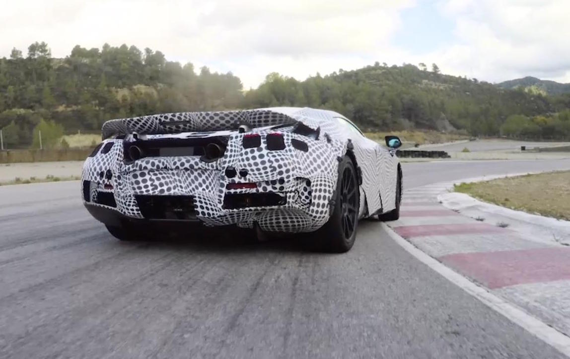 McLaren Teases New 720S Model by Drifting It