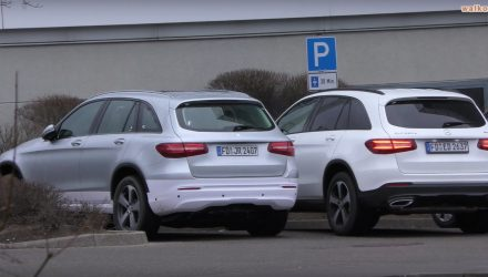 Mercedes-Benz GLC EV spotted, first EQ model (video)