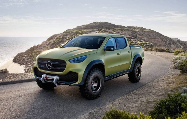 Mercedes Benz X Class Ute In Australia For Promo Dealers