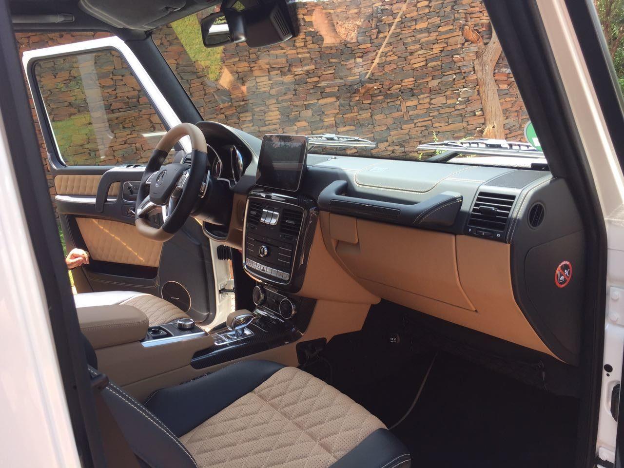 mercedes maybach g650 landaulet interior