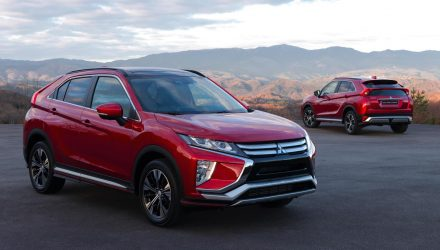 Mitsubishi Eclipse Cross unveiled as new coupe SUV