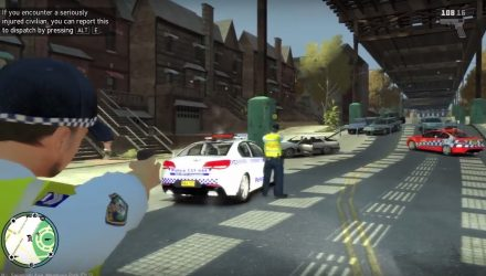 NSW Police offended by Grand Theft Auto mod (video)