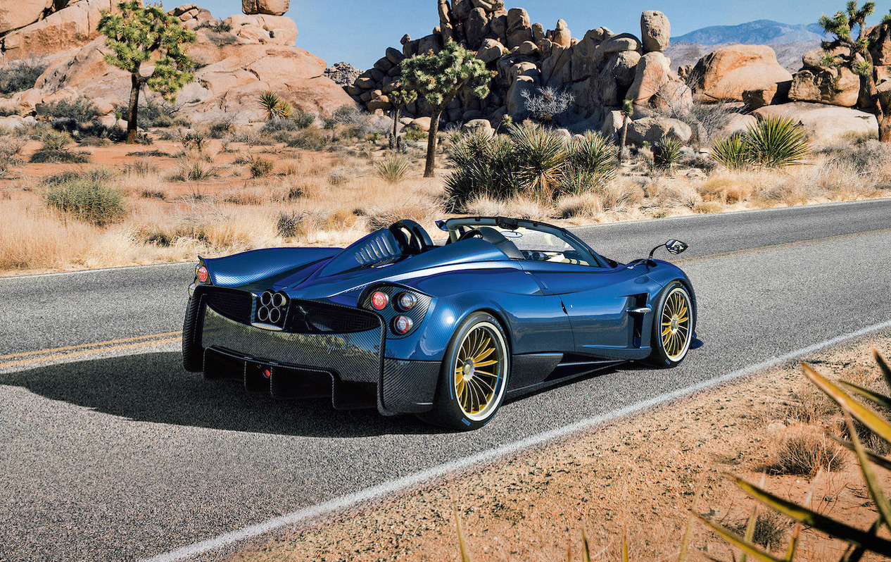 Pagani Huayra Roadster unveiled; lighter, more powerful ...