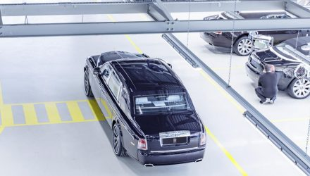 Last current-gen Rolls-Royce Phantom rolls off the line