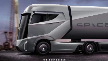 "Tesla truck envisioned, Musk says ""Model 3 is priority"""