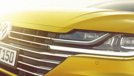 Volkswagen Arteon previewed as new Passat CC