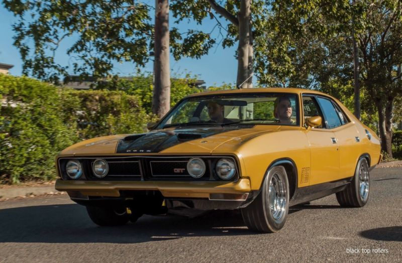for sale original 1975 ford xb falcon gt performancedrive. Black Bedroom Furniture Sets. Home Design Ideas