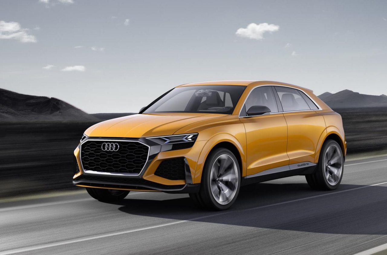 audi q8 sport concept updated for geneva motor show performancedrive. Black Bedroom Furniture Sets. Home Design Ideas