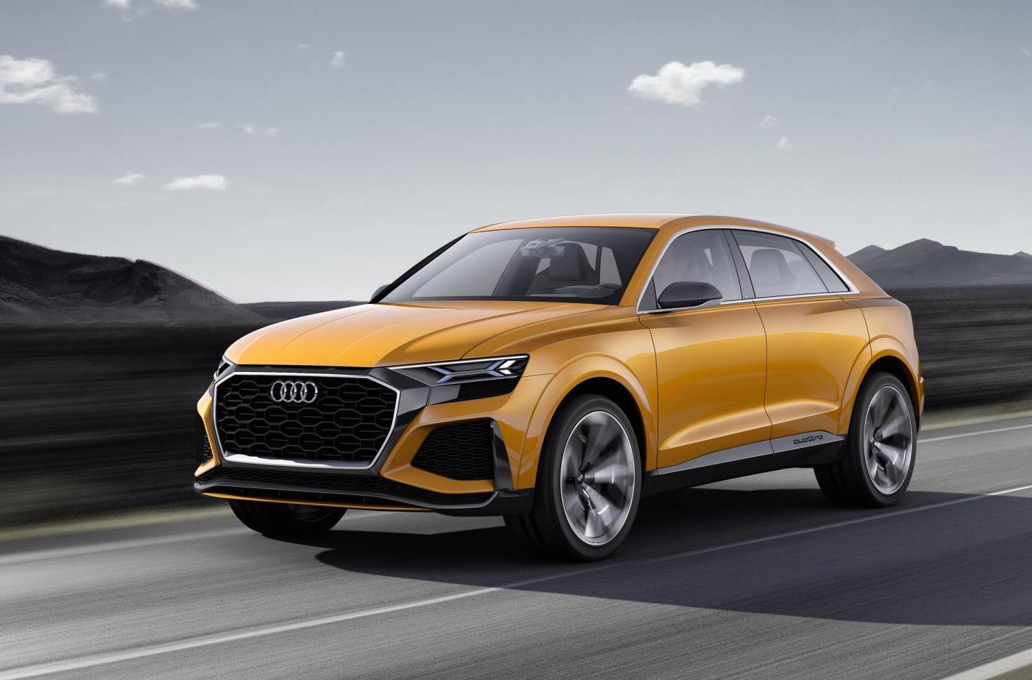 Audi Q8 Sport Concept updated for Geneva motor show ...
