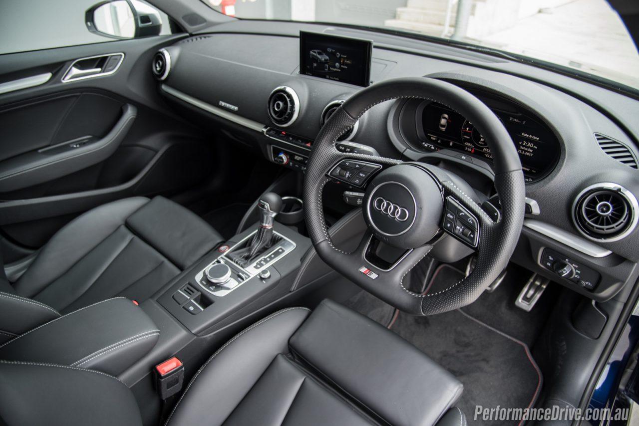 2017 audi s3 sedan review video performancedrive for Audi s3 interior