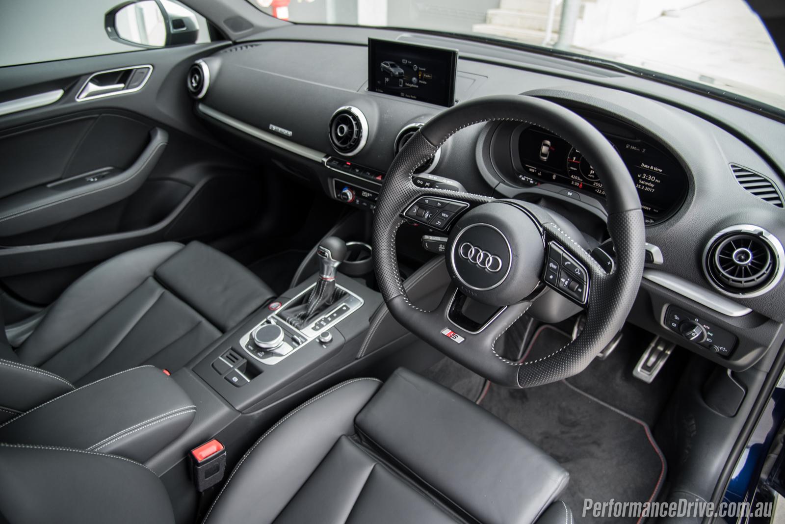 2017 Audi S3 Sedan Interior