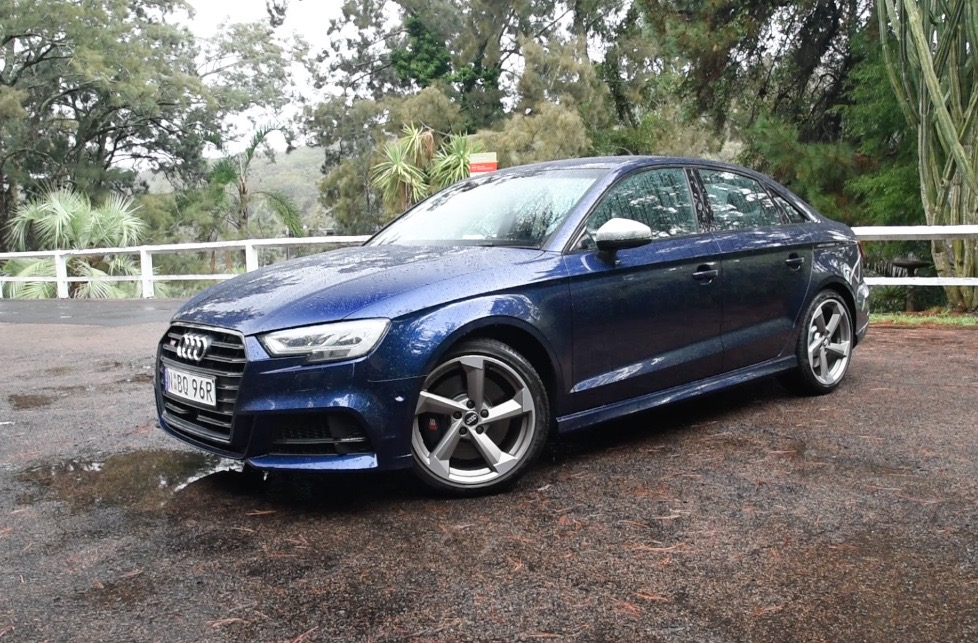 2017 audi s3 sedan review the ultimate wet weather machine pov performancedrive. Black Bedroom Furniture Sets. Home Design Ideas