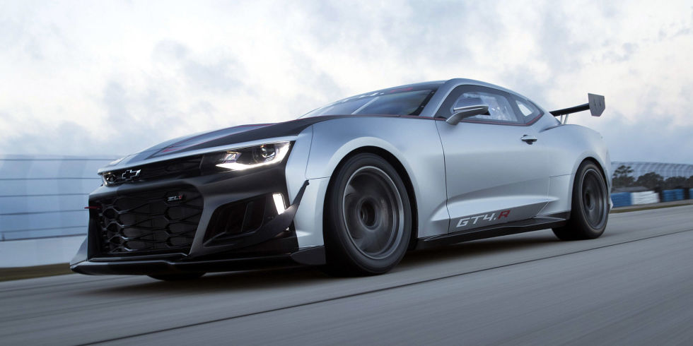 Chevrolet Announces Camaro Gt4 R Racer Based On Zl1