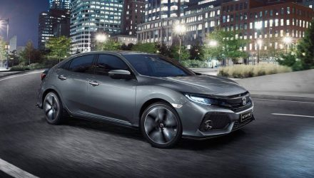 2017 Honda Civic on sale in Australia from $22,390