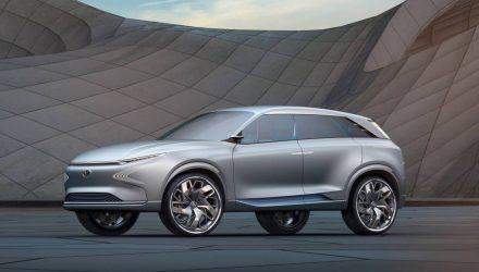 Hyundai shows FE Fuel Cell Concept at Geneva, previews future SUV