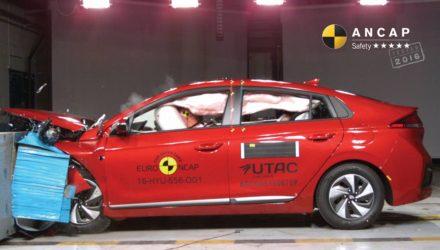Hyundai Ioniq, Volvo S90, Audi A5 receive 5-star ANCAP, Hyundai i20 4 stars