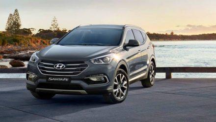 Hyundai Australia announces Santa Fe Active X variant with V6 petrol