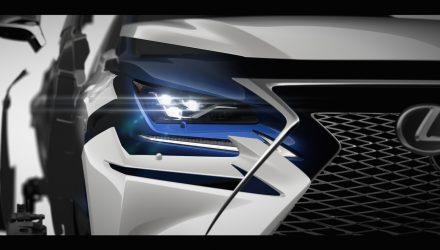 2017 Lexus NX facelift previewed ahead Shanghai debut