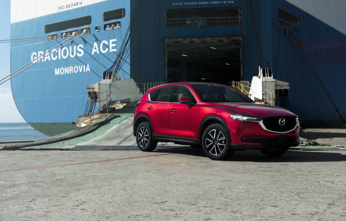 new car releases for australiaFirst 2017 Mazda CX5 models touch down in Australia